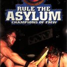 FMW Rules Asylum Video SEALED Hardcore Japan WWE WWF WCW ECW TNA