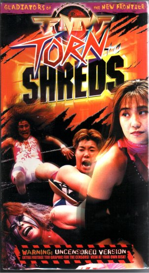 FMW Torn To Shreds Video SEALED Hardcore Japan WWE WWF WCW ECW TNA