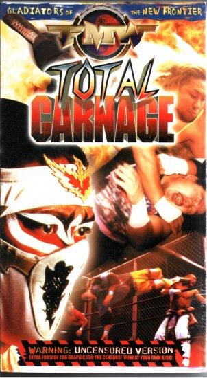 FMW Total Carnage Video SEALED Hardcore Japan WWE WWF WCW ECW TNA