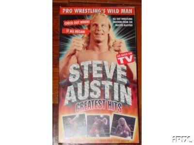 Pre WWF WWE Steve Austin Greatest SEALED Video In Box WWE WWF WCW ECW TNA