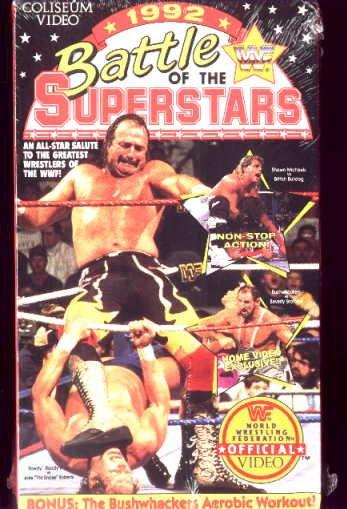 WWF 1992 Battle of the Superstars SEALED Video WWE WWF WCW ECW TNA