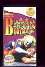 WWF Bloopers Bleeps Bodyslams SEALED Coliseum Video 1994 WWF WCW ECW TNA