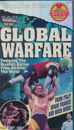 WWF Global Warfare Coliseum Video SEALED WWE Hart HBK WWF WCW ECW TNA