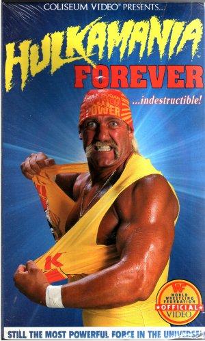 WWF Hulkamania Forever SEALED Coliseum Video In Box WWE WWF WCW ECW TNA