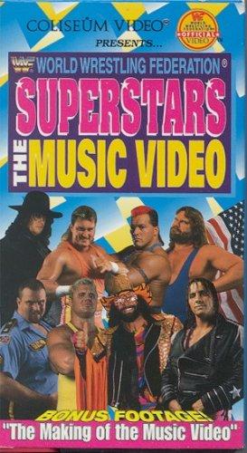 WWF Superstars The Music Video SEALED Coliseum WWE Hart WWF WCW ECW TNA