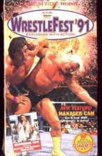 WWF WrestleFest 1991 SEALED Coliseum Video WWE Bret Hart WWF WCW ECW TNA WWE