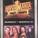 WWF WrestleMania 12 1996 Video SEALED WWE Bret Hart Shawn Michaels Iron Man WWF WCW ECW TNA WWE