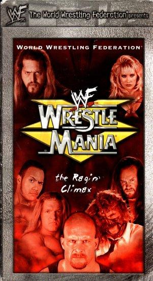 WWF WrestleMania 15 1999 Video SEALED WWE Rock Stone Cold Steve Austin  WWF WCW ECW TNA WWE