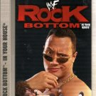 WWE Rock Bottom 1998 Video SEALED WWF Buried Alive Undertaker Austin WWF WCW ECW TNA WWE