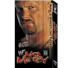 WWF No Mercy 2000 Video SEALED WWE Austin Returns WWF WCW ECW TNA WWE