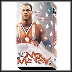 WWF No Mercy 2001 Video SEALED WWE Austin Kurt Angle Rob Van Dam WWF WCW ECW TNA WWE