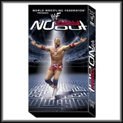 WWF No Way Out 2001 Video SEALED WWE Kurt Angle Rock WWF WCW ECW TNA WWE