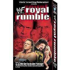 WWF WWE Royal Rumble 2000 Video SEALED Cactus Jack Triple H WWF WCW ECW TNA WWE