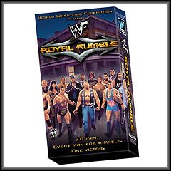 WWF Royal Rumble 2001 Video SEALED WWE Chris Benoit Y2J Chris Jericho WWF WCW ECW TNA WWE