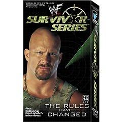 WWF Survivor Series 2000 Video SEALED WWE Austin Triple H WWF WCW ECW TNA WWE