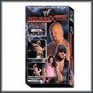 WWF WWE Insurrextion 2001 VHS Video SEALED Triple H Steve Austin WWF WCW ECW TNA WWE