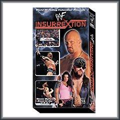 WWF WWE Insurrextion 2001 VHS Video SEALED Triple H Steve Austin WWF WCW ECW TNA WWE