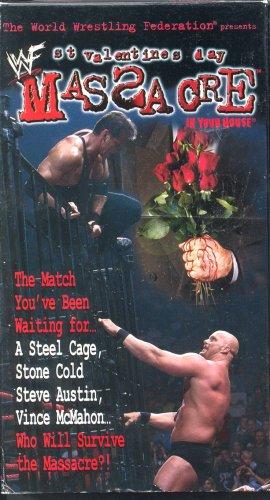 WWF WWE St. Valentines Day Massacre 1999 Video SEALED Big Show Debuts WWF WCW ECW TNA WWE
