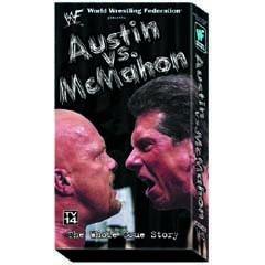 WWF Steve Austin vs Vince McMahon Video SEALED WWE WWF WCW ECW TNA WWE