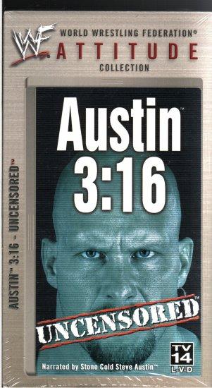 WWF Austin 3:16 Uncensored Video SEALED WWE Stone Cold WWF WCW ECW TNA WWE