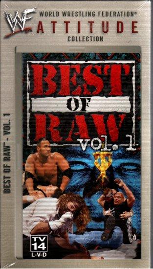 WWF Best of Raw Vol. 1 1997-1998 Video NEW SEALED WWE WWF WCW ECW TNA WWE