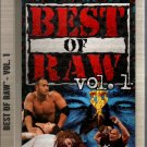 WWF Best of Raw Vol. 1 1997-1998 Video NEW SEALED WWE WWF WCW ECW TNA WWE