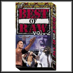 WWF Best of Raw Vol. 2 Video SEALED WWE 1998-1999 WWF WCW ECW TNA WWE