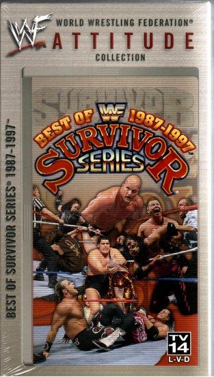 WWF Best Survivor Series 1987 1997 Video SEALED WWE Shawn Michaels Bret Hart WWF WCW ECW TNA WWE