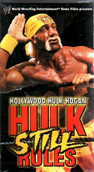 WWF Hulk Hogan Still Rules Video SEALED WWE 2002 WWF WCW ECW TNA WWE