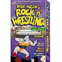WWF Hulk Hogan's Rock N Wrestling 5 Video SEALED WWE WWF WCW ECW TNA WWE
