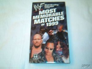 WWF Most Memorable Matches of 1999 SEALED Video WWE WWF WCW ECW TNA WWE