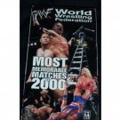 WWF Most Memorable Matches of 2000 Video SEALED WWE WWF WCW ECW TNA WWE