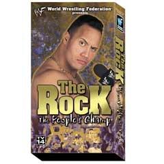 WWF Rock Peoples Champ Video SEALED WWE Rock N Sock WWF WCW ECW TNA WWE