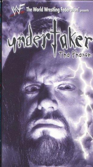 WWF Undertaker The Phenom Video SEALED 1998 Kane WWE WWF WCW ECW TNA WWE