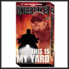 WWF Undertaker This Is My Yard Video SEALED WWE 2001 WWF WCW ECW TNA WWE