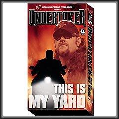WWF Undertaker This Is My Yard Video SEALED WWE 2001 WWF WCW ECW TNA WWE