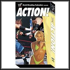 WWF WWE Action Video SEALED 2001 Trish Angle RVD Austin WWF WCW ECW TNA WWE