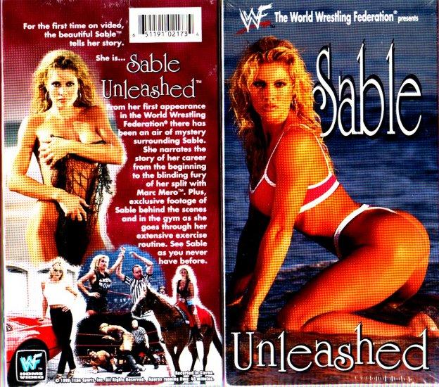 WWF WWE Sable Unleashed Video SEALED 1998 Rena Mero WWF WCW ECW TNA WWE