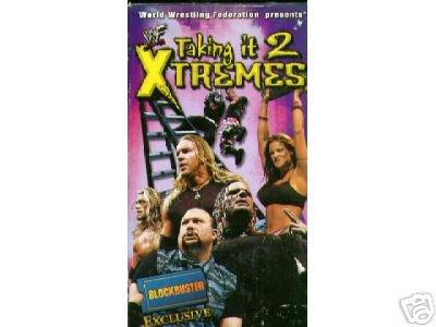 WWF WWE Taking It 2 Extremes SEALED Video Hardy Boyz Matt Jeff Lita WWF WCW ECW TNA WWE