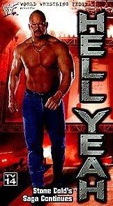 WWF Stone Cold Steve Austin Hell Yeah Video In Box WWE WWF WCW ECW TNA WWE