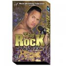 WWF Rock Peoples Champ Video In Box WWE Rock N Sock WWF WCW ECW TNA WWE