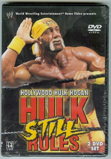 WWE WWF Hollywood Hulk Hogan Still Rules DVD SEALED WWF WCW ECW TNA WWE