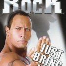 WWE WWF The Rock Just Bring It DVD 2002 SEALED Raw Smackdown WWF WCW ECW TNA WWE