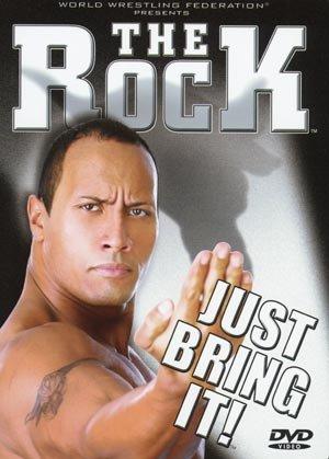 WWE WWF The Rock Just Bring It DVD 2002 SEALED Raw Smackdown WWF WCW ECW TNA WWE