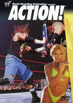 WWF Action 2001 DVD SEALED WWE Trish Stratus Y2J Triple H ...
