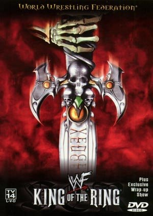 WWE WWF King of the Ring 2000 DVD SEALED Rock Kurt Angle Triple H WWF WCW ECW TNA WWE