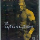 WWE WWF Backlash 2002 DVD SEALED Triple H vs Hulk Hogan WWF WCW ECW TNA WWE