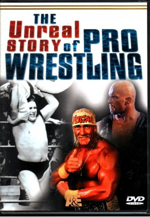 A&E The Unreal Story of Pro Wrestling DVD SEALED WWE 1998 WWF WCW ECW TNA WWE