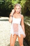 Babydoll  sheer and Lace Babydoll w matching G-String set