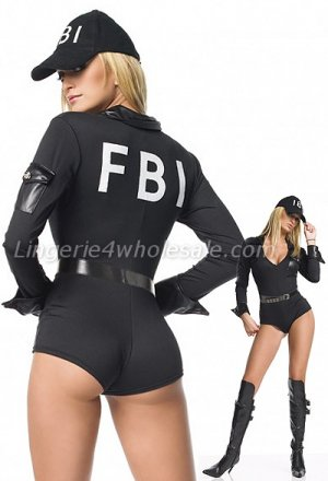 3pc FBI costume